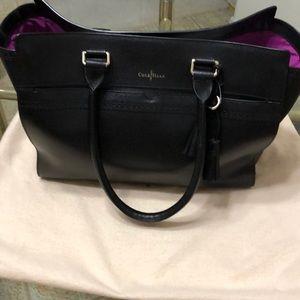 Handbag with bag cover